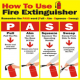 Do you know how to use a Fire Extinguisher in Your New York City Home, Business or Restaurant?