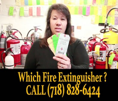 Fire Extinguishers Sales Service NYC