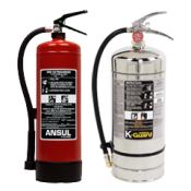 Master Fire Ansul Portable Fire Extinguishers NYC Restaurant